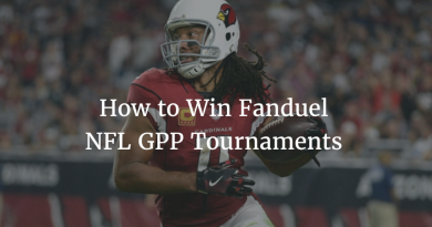 How to Win Fanduel NFL GPP Tournaments