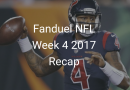 Fanduel NFL Week 4 2017 Perfect Lineup Recap